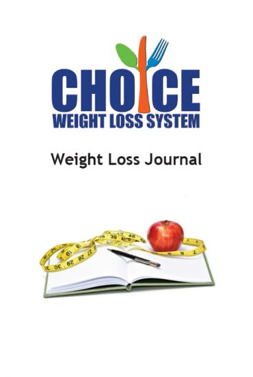 Choice Weight Loss Journal Hard Copy - Click Image to Close